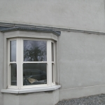 Drumanphy Rd Portadown Cream sliding sash bay window.