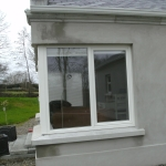 Cusheny Rd Portadown Pvc whitefoil tilt and turn window.