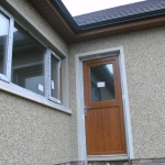 Summerisland Rd Portadown Oak pvc stable door.