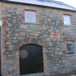 Sheepwalk Rd,Lisburn Black tilt and turn windows and timber arched doors.